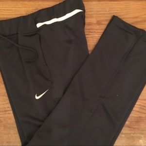 Nike DryFit Sweat Pants -S gray , drawstring waist